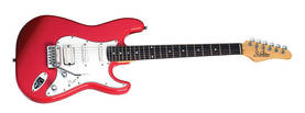 Schecter VS2, H/S/S, Hot rod red - Sähkökitarat - YSC3560 - 1