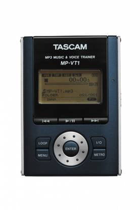 Tascam MP-VT1 Vocal Trainer, MP3 soitin - Soittimet, CD, MP3, LP - MP-VT1 - 1