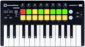 Novation Launchkey Mini MK2 - MIDI/USB -koskettimet - YNOLKEYMINIMK2 - 1