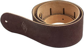 LM Straps LS-2504S XL BRN Suedestrap, kitarahihna - Kitarahihnat - 217603 - 1