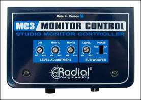 Radial Engineering MC-3, monitorikontrolleri - DI-boxit - MC3 - 1