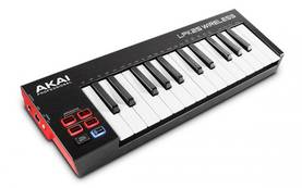 Akai LPK25 Wireless, USB/Bluetooth koskettimisto - MIDI/USB -koskettimet - YAKLPK25WIRE - 1