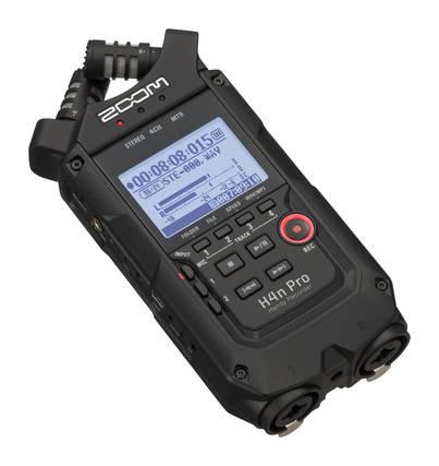 Zoom H4npro Black Digitaalitallennin St Paul S Sound Verkkokauppa