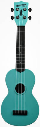 Kala Waterman Aqua Blue Glows in the Dark ukulele - Ukulelet - YKLMK-SWGBL - 1