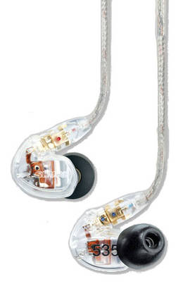 Shure SE535 CL, In-Ear -kuulokkeet - In ear -nappikuulokkeet - SE535CL - 3