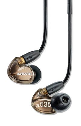 Shure SE535 V, In-Ear -kuulokkeet - In ear -nappikuulokkeet - SE535V - 7
