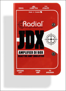 Radial Engineering JDX REACTOR, DI-boksi - DI-boxit - JDX - 1